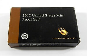 Click now to see the BUY IT NOW Price! 2012 UNITED STATES MINT PROOF COIN SET ^ IN BOX WITH COA ^ US MINT
