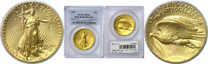 Click now to see the BUY IT NOW Price! 1907 $20 GOLD COIN PCGS MS 64