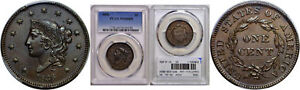Click now to see the BUY IT NOW Price! 1836 LARGE CENT PCGS MS 64 BN