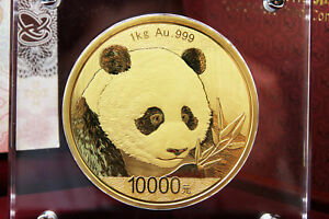 Click now to see the BUY IT NOW Price! CHINA   1 KG GOLDPANDA PP 2018 INKL. BOX UND ZERTIFIKAT   TOP