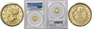 Click now to see the BUY IT NOW Price! 1851 $1 GOLD COIN PCGS MS 66 CAC