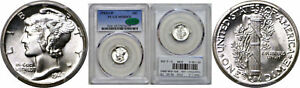 Click now to see the BUY IT NOW Price! 1942/1 D MERCURY DIME PCGS MS 65 FB CAC