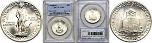 Click now to see the BUY IT NOW Price! 1925 LEXINGTON SILVER COMMEMORATIVE PCGS MS 66