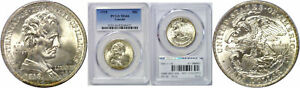 Click now to see the BUY IT NOW Price! 1918 LINCOLN SILVER COMMEMORATIVE PCGS MS 66