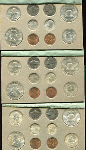 Click now to see the BUY IT NOW Price! 1951 DOUBLE P D S MINT SET CARDBOARD HOLDERS 30 GEM BU COINS FABULOUS SET  G154