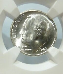 Click now to see the BUY IT NOW Price! 1946 S/S DIME ROOSEVELT  NGC  S/S DDR STRUCK THRU FB FROSTY MINT ERROR MS 64 FT