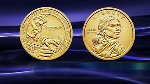 2017  P&D MINT   SACAGAWEA NATIVE AMERICAN DOLLARS    MINT STATE BU CONDITION