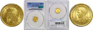 1905 LEWIS AND CLARK $1 GOLD COMMEMORATIVE PCGS MS 64 CAC