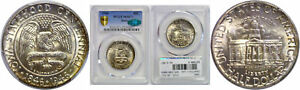 Click now to see the BUY IT NOW Price! 1946  IOWA SILVER COMMEMORATIVE PCGS MS 67  CAC