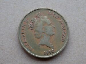NEW ZEALAND TWO DOLLARS 1990 COIN