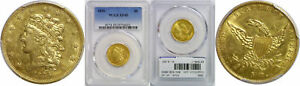 1836 $5 GOLD COIN PCGS XF 45