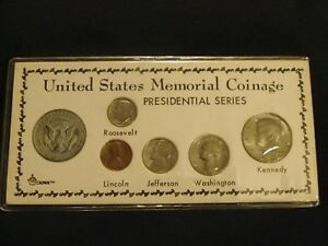 LOT OF 1972 UNITED STATES MEMORIAL COINAGE PRESIDENTIAL SERIES