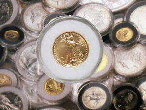 NEW AIR TITE  COIN PROTECTORS FOR GOLD MAPLE LEAF COINS 1/20 1/10 1/4 1/2 1OZ