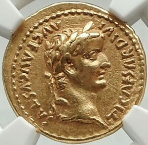 Click now to see the BUY IT NOW Price! TIBERIUS AUTHENTIC ANCIENT TIMEOF JESUS 15AD BIBLICAL GOLD ROMAN AUREUS COIN NGC