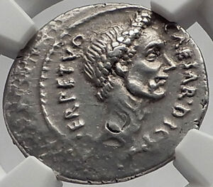 Click now to see the BUY IT NOW Price! JULIUS CAESAR 44BC ROME DENARIUS AUTHENTIC ANCIENT SILVER ROMAN COIN NGC CH XF