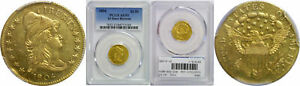 1804 $2.50 GOLD COIN PCGS AU 53 14 STARS REVERSE