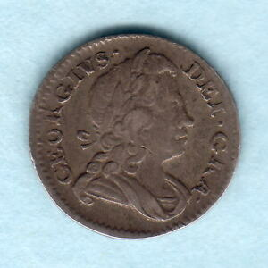 GREAT BRITAIN. 1727 GEORGE 1   TWOPENCE..  VF
