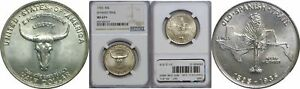 Click now to see the BUY IT NOW Price! 1935 SPANISH TRAIL SILVER COMMEMORATIVE NGC MS 67