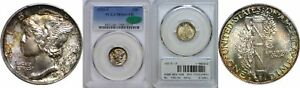 Click now to see the BUY IT NOW Price! 1925 S MERCURY DIME PCGS MS 66  FB CAC