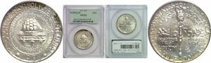 Click now to see the BUY IT NOW Price! 1936 NORFOLK SILVER COMMEMORATIVE PCGS MS 68