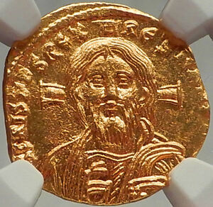 Click now to see the BUY IT NOW Price! JESUS CHRIST ON JUSTINIAN II ANCIENT GOLD COIN BYZANTINE EMPIRE NGC CERTIFIED MS
