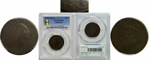 1793 LARGE CENT PCGS G 6 CHAIN AMERICA