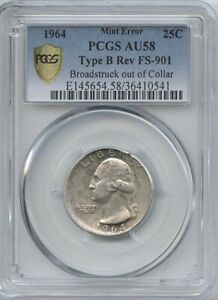1964 25 BROADSTRUCK OUT OF COLLAR T B PCGS