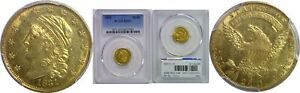 Click now to see the BUY IT NOW Price! 1831 $2.50 GOLD COIN PCGS MS 62