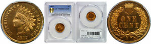 Click now to see the BUY IT NOW Price! 1877 INDIAN HEAD CENT PCGS PR 65 RD CAM