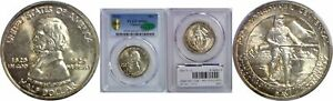 1925 FT. VANCOUVER SILVER COMMEMORATIVE PCGS MS 66 CAC