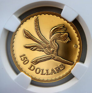 Click now to see the BUY IT NOW Price! 1997 $150 GOLD PROOF FLORAL EMBLEMS OF AUSTRALIA KANGAROO PAW  NGC PF69 UCAM