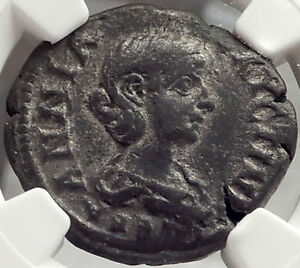 Click now to see the BUY IT NOW Price! ANNIA FAUSTINA 3RD WIFE ELEGABALUS 221 AD ANCIENT ROMAN COIN CERTIFIED NGC CH VF