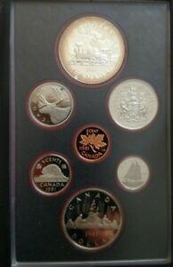 1981 CANADA DOUBLE DOLLAR PROOF SET WITH CASE AND COA