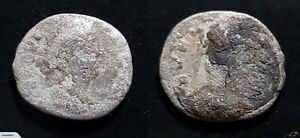 CLEARANCE LOW QUALITY ROMAN SILVER DENARIUS COIN OF HADRIAN FROM 117 138 AD