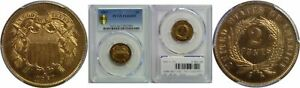 Click now to see the BUY IT NOW Price! 1867 TWO CENT PIECE PCGS PR 66 RD