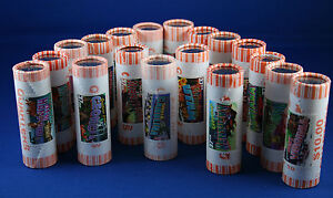 Click now to see the BUY IT NOW Price! COMPLETE 50 ROLLS SET 1999/2008 STATEHOOD QUARTERS IN TUBES W/ STATES STAMPS NR