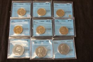 Click now to see the BUY IT NOW Price! $1 LONNIE DOLLAR LOT OF 9 CERTIFIED COINS BY CCCS 1969 1970 1985 1988 1991 2006