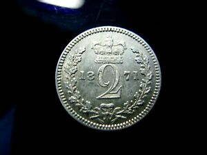 UK  GREAT BRITAIN  2 PENCE 1771 IN XF  CONDITION.RULER:VICTORIA.RRR