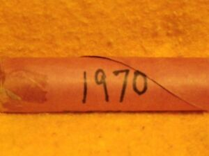 1970 LINCOLN CENT ROLL