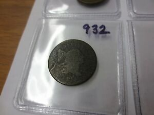 1797 U.S. HALF CENT PLAIN EDGE AG  932