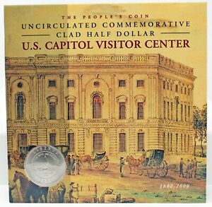 THE UNITED STATES CAPITOL  200TH ANNIVERSARY  UNCIRCULATED CLAD HALF DOLLAR
