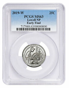 2019 W LOWELL NP AMERICA THE BEAUTIFUL QUARTER PCGS MS63 EARLY FIND SKU57947