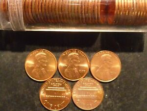 1977 P LINCOLN CENT PENNY CHOICE/GEM BU ROLL UNCIRCULATED