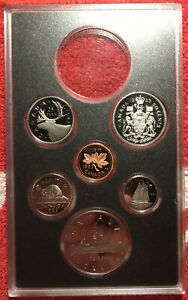 CANADA KM PS3   1983 MINT PROOF SET NO SILVER DOLLAR