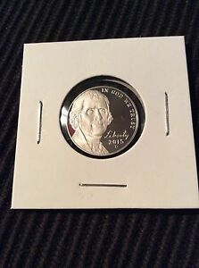 2015 JEFFERSON NICKEL S PROOF