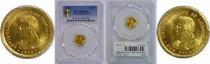 Click now to see the BUY IT NOW Price! 1904 LEWIS AND CLARK $1 GOLD COMMEMORATIVE PCGS MS 66