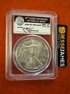 Click now to see the BUY IT NOW Price! 2011 W BURNISHED SILVER EAGLE PCGS MS70 MERCANTI FIRST STRIKE FROM 25TH ANN SET