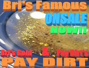 BUY BRI'S FAMOUS RICHEST 24OZ PAYDIRT BEST ON THE MARKET ADDED GOLD & GARNETS $$