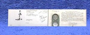 1999 PENNSYLVANIA FIRST DAY SHRINK COIN COVER  OPEN ENVELOPE Q11 LOWERED PRICES