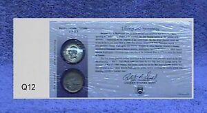 1999 NEW JERSEY FIRST DAY COIN COVER WITH OPENED ENVELOPE Q12 WE LOWERED PRICES